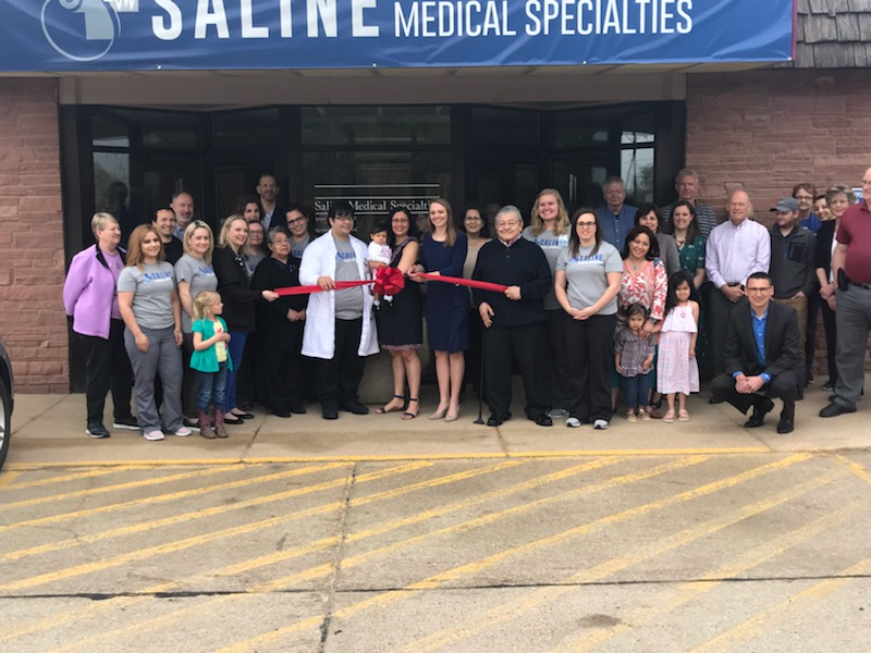 SMS Opening with Ribbon Cutting in Crete NE